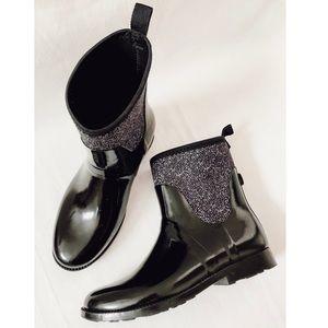 MICHAEL Michael Kors Stretch Short Rain Boots 9
